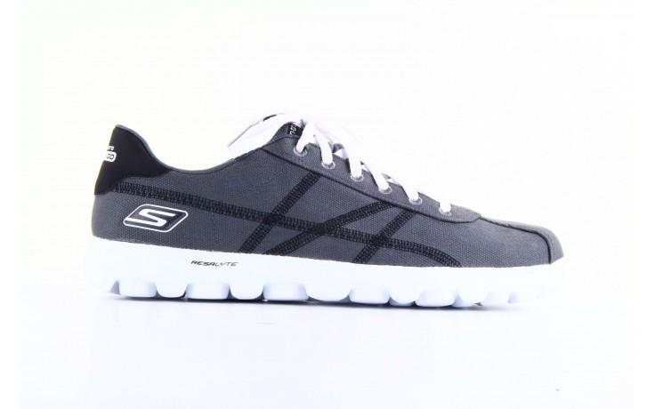 Skechers 53661 gybk gray- black 6