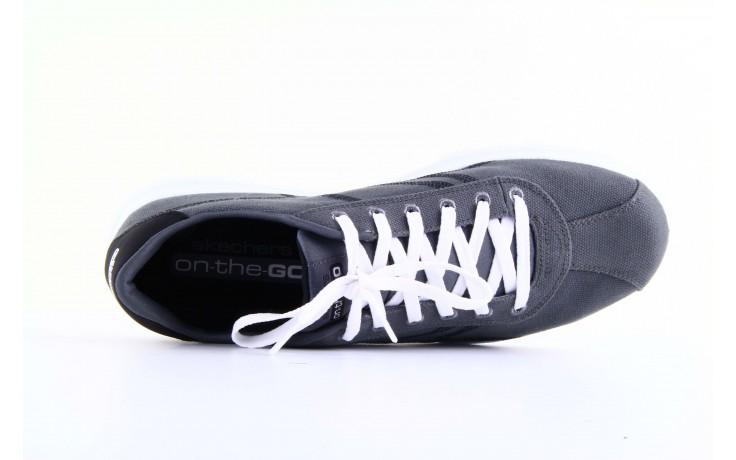 Skechers 53661 gybk gray- black 4