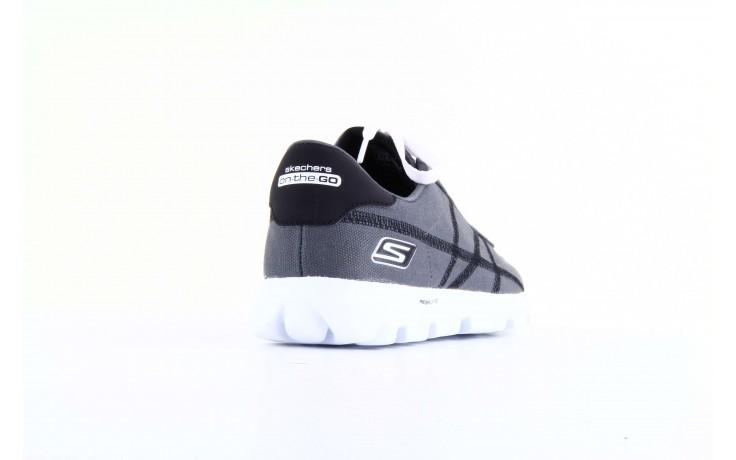 Skechers 53661 gybk gray- black 1