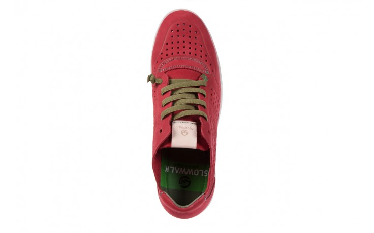 Slowwalk 10061 nobuck red 4