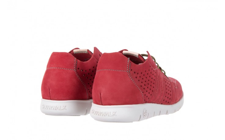 Slowwalk 10061 nobuck red 3