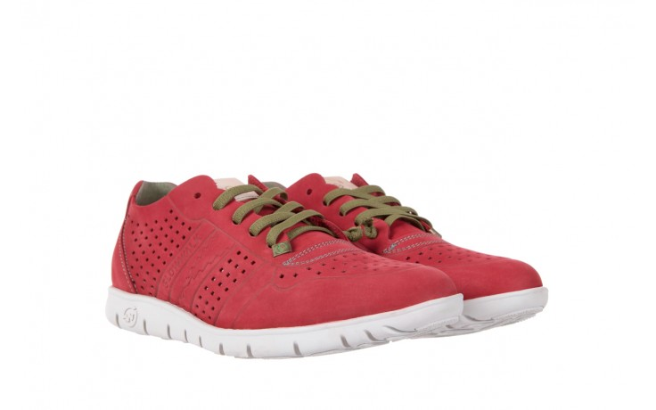 Slowwalk 10061 nobuck red 1