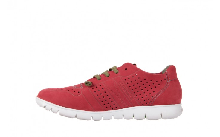 Slowwalk 10061 nobuck red 2