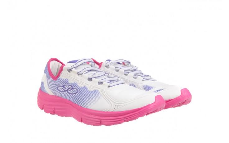 Trampki olympikus sync 166 white pink, biały/ róż, materiał  - azaleia - nasze marki 1