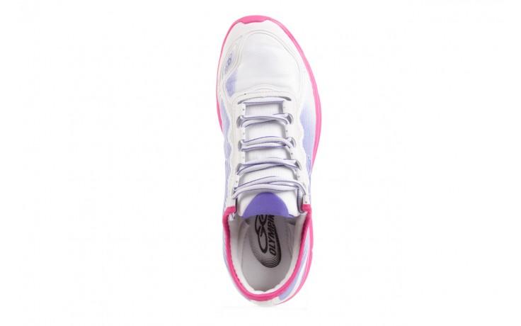 Trampki olympikus sync 166 white pink, biały/ róż, materiał  - azaleia - nasze marki 4