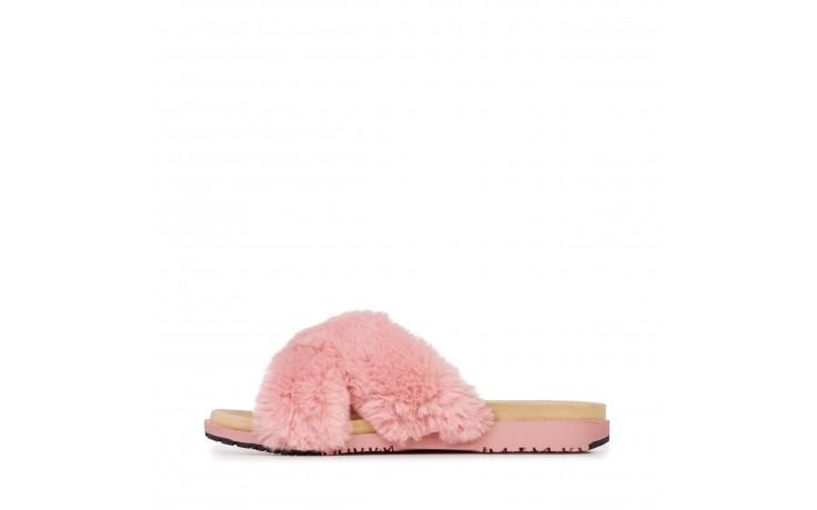 Klapki emu mareeba dusty pink, róż, futro naturalne - emu - nasze marki 2