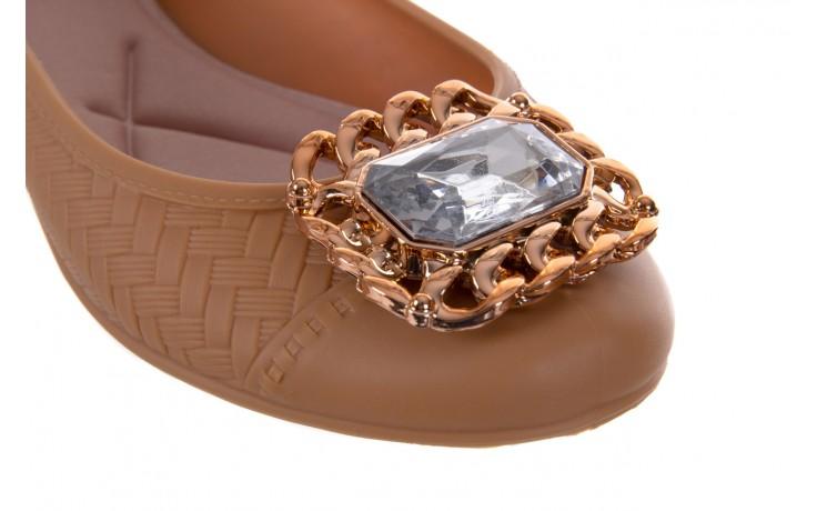 Baleriny t&g fashion 11-086 caramel, brąz, guma - tg - nasze marki 5