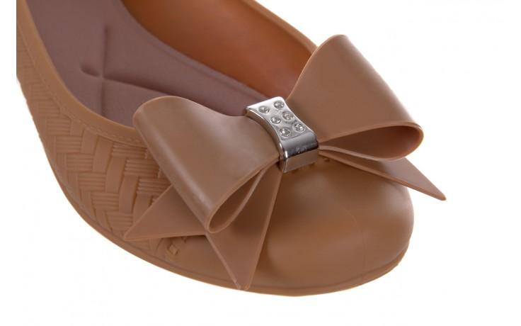 Baleriny t&g fashion 11-087 caramel, brąz, guma - tg - nasze marki 5