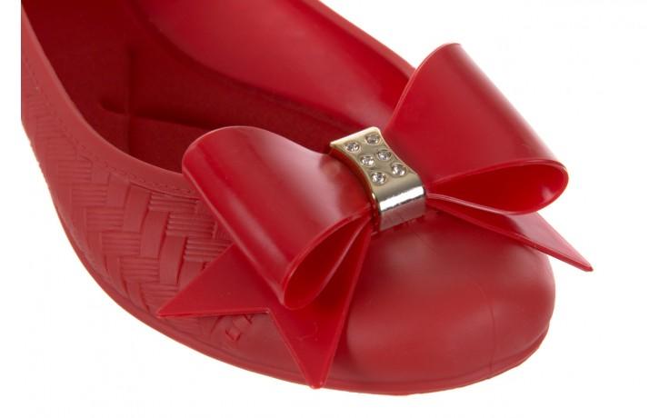 Baleriny t&g fashion 11-087 red, czerwony, guma - tg - nasze marki 5