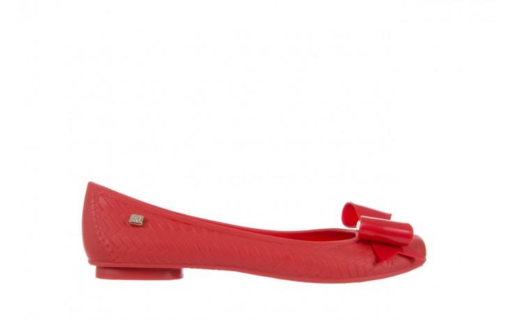 Baleriny t&g fashion 11-087 red, czerwony, guma - tg - nasze marki