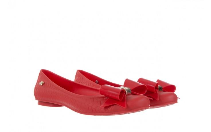 Baleriny t&g fashion 11-087 red, czerwony, guma - tg - nasze marki 1