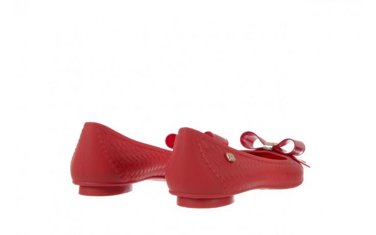 Baleriny t&g fashion 11-087 red, czerwony, guma - tg - nasze marki 3