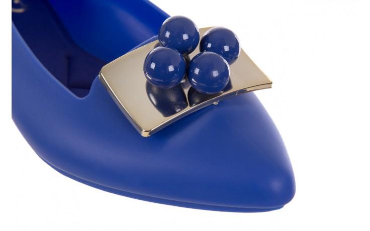 Baleriny t&g fashion 11-091 blue, granat, guma 5