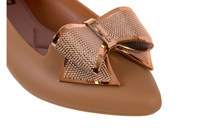 Baleriny t&g fashion 11-092 caramel, brąz, guma - tg - nasze marki 5