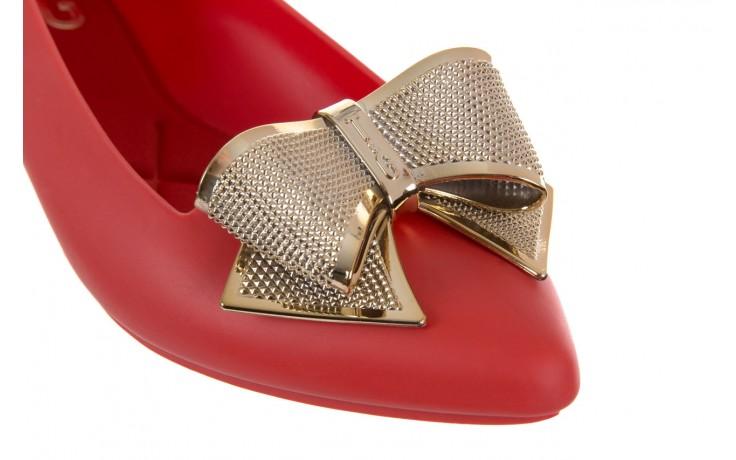Baleriny t&g fashion 11-092 red, czerwony, guma - tg - nasze marki 4