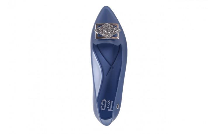 Baleriny t&g fashion 11-093 translucent, niebieski, guma - tg - nasze marki 4
