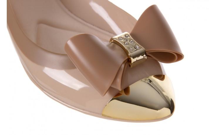 Baleriny t&g fashion 11-102 beige, beż/ brąz, guma - tg - nasze marki 5