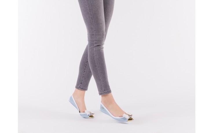 Baleriny t&g fashion 11-102 light blue, niebieski/ biały, guma - tg - nasze marki 6