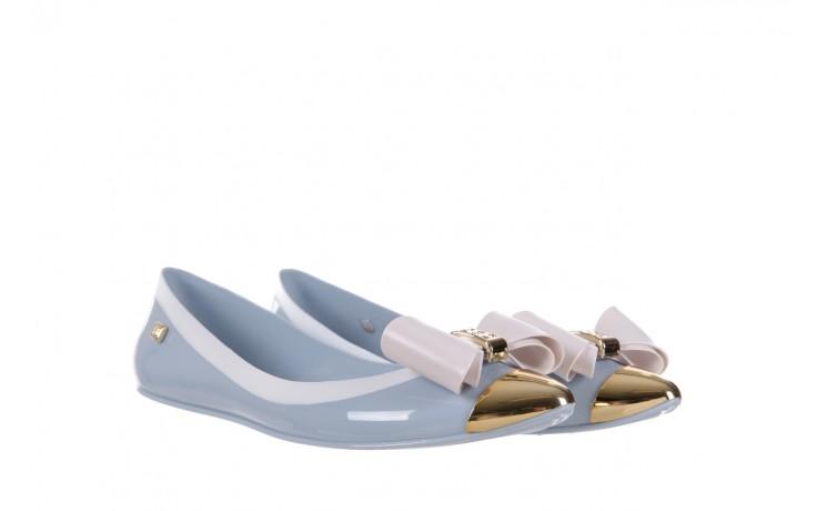 Baleriny t&g fashion 11-102 light blue, niebieski/ biały, guma - tg - nasze marki 1