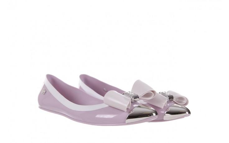 Baleriny t&g fashion 11-102 violet, róż/ biały  - tg - nasze marki 1