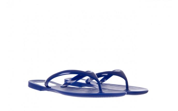 Klapki t&g fashion 22-114 blue, granat, guma - klapki - letnie hity cenowe 1