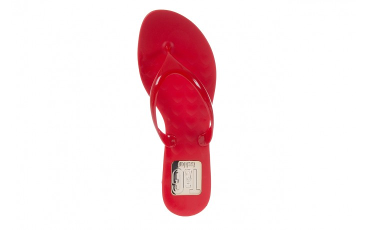 Klapki t&g fashion 22-114 red, czerwony, guma - tg - nasze marki 4