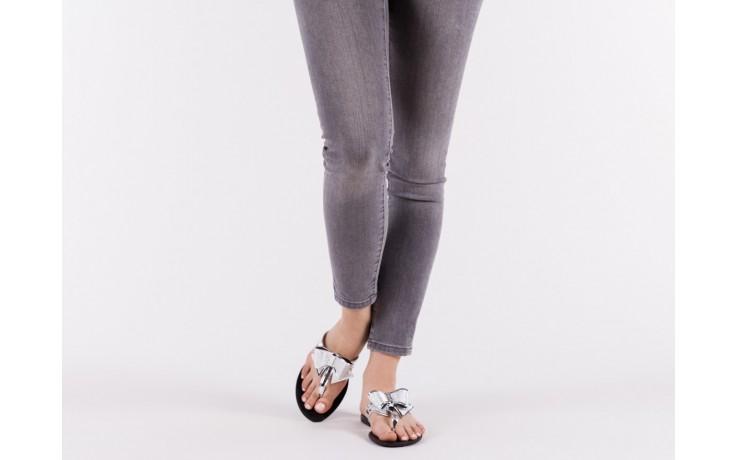 Klapki t&g fashion 22-118 lila, róż/ srebro, guma - klapki - letnie hity cenowe 6