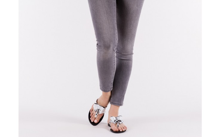 Klapki t&g fashion 22-118 black, czarny/ srebro, guma - tg - nasze marki 6