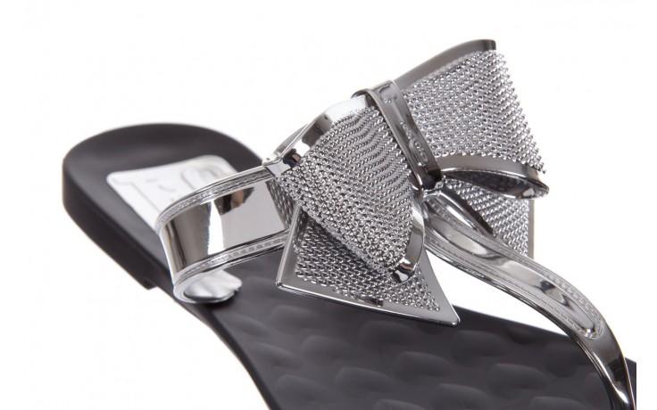 Klapki t&g fashion 22-118 black, czarny/ srebro, guma - tg - nasze marki 5