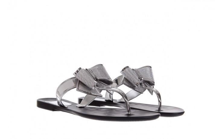 Klapki t&g fashion 22-118 black, czarny/ srebro, guma - tg - nasze marki 1