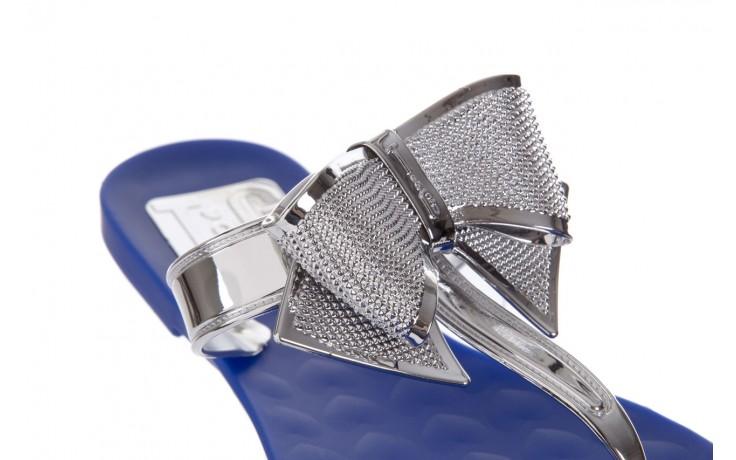 Klapki t&g fashion 22-116 dark blue, granat/ srebro, guma - tg - nasze marki 5