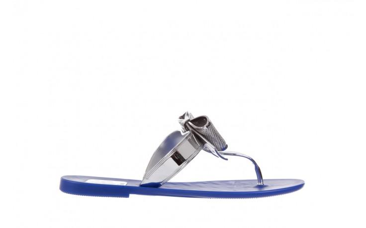 Klapki t&g fashion 22-116 dark blue, granat/ srebro, guma - tg - nasze marki