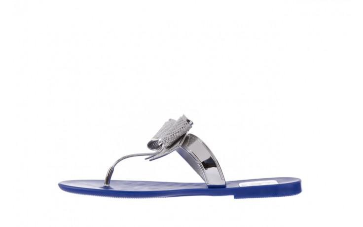 Klapki t&g fashion 22-116 dark blue, granat/ srebro, guma - tg - nasze marki 2
