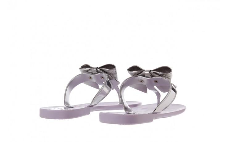 Klapki t&g fashion 22-118 lila, róż/ srebro, guma - klapki - letnie hity cenowe 3