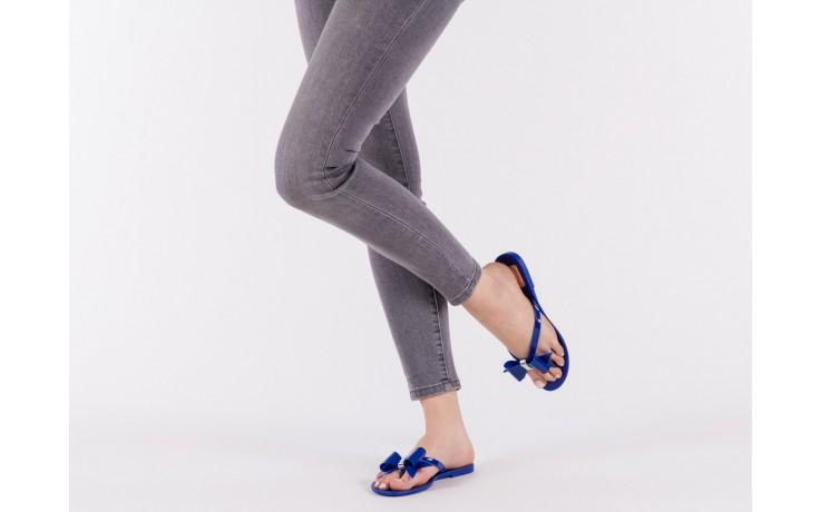 Klapki t&g fashion 22-123 blue, granat, guma - klapki - letnie hity cenowe 6