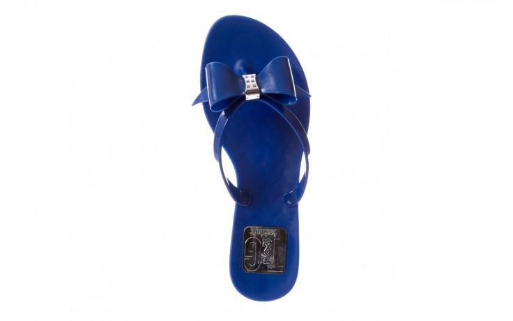 Klapki t&g fashion 22-123 blue, granat, guma - klapki - letnie hity cenowe 4