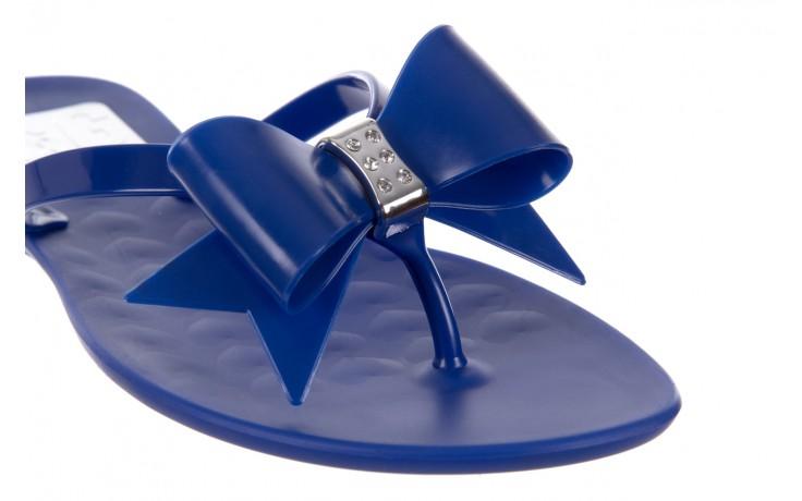 Klapki t&g fashion 22-123 blue, granat, guma - klapki - letnie hity cenowe 5