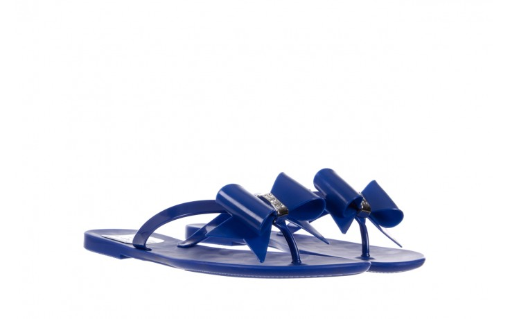 Klapki t&g fashion 22-123 blue, granat, guma - klapki - letnie hity cenowe 1