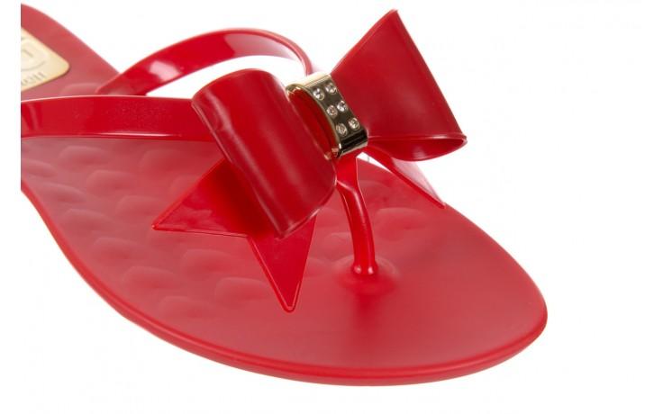 Klapki t&g fashion 22-123 red, czerwony, guma - tg - nasze marki 5