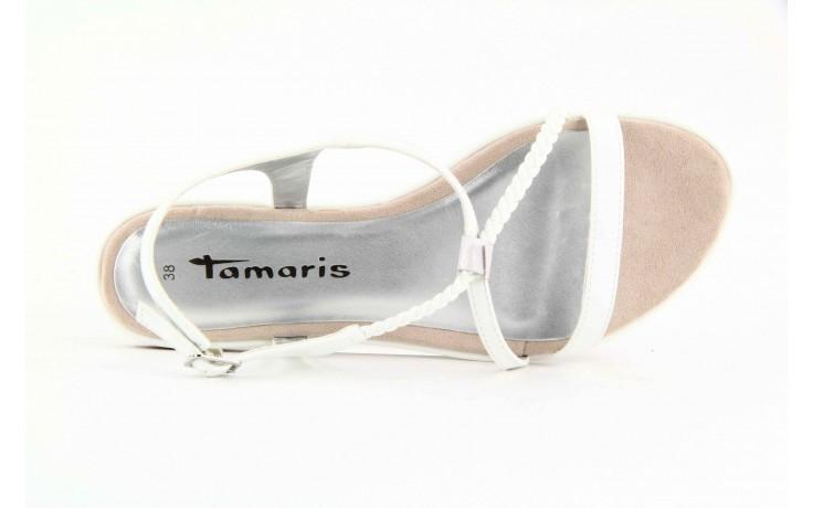 Tamaris 28129 white patent 5