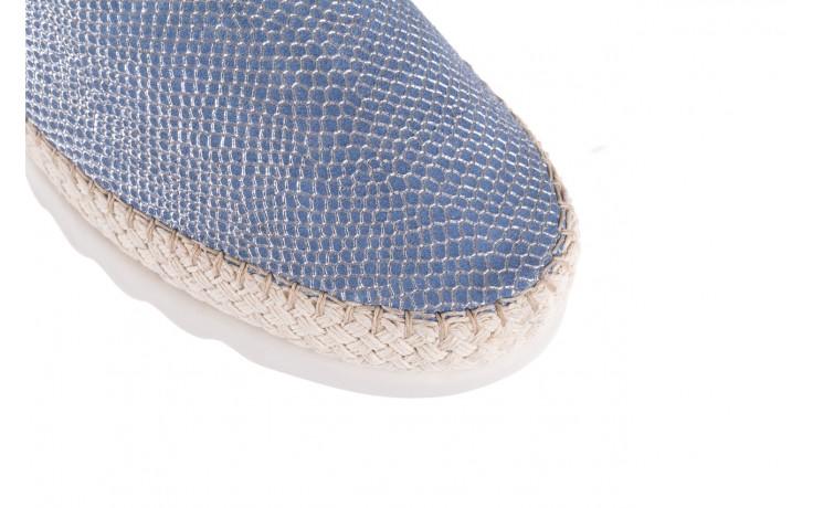 Półbuty the flexx chazan denim 18, niebieski, skóra naturalna  - the flexx - nasze marki 5