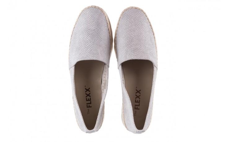 Mokasyny the flexx chazan white 18, srebro/ biały, skóra naturalna  - the flexx - nasze marki 4