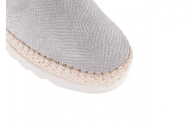 Mokasyny the flexx chazan white 18, srebro/ biały, skóra naturalna  - the flexx - nasze marki 6