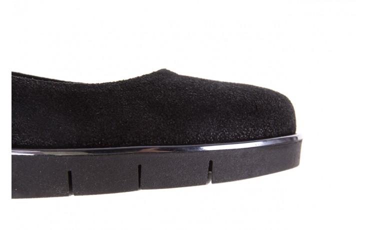 Baleriny the flexx d1039-07 black, czarny, skóra naturalna 6