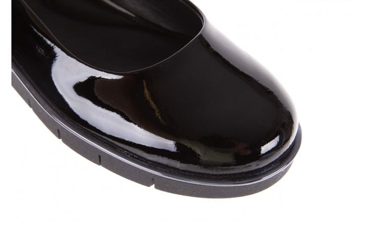 Baleriny the flexx d1039-07 black lakier, czarny, skóra naturalna lakierowana  - the flexx - nasze marki 5