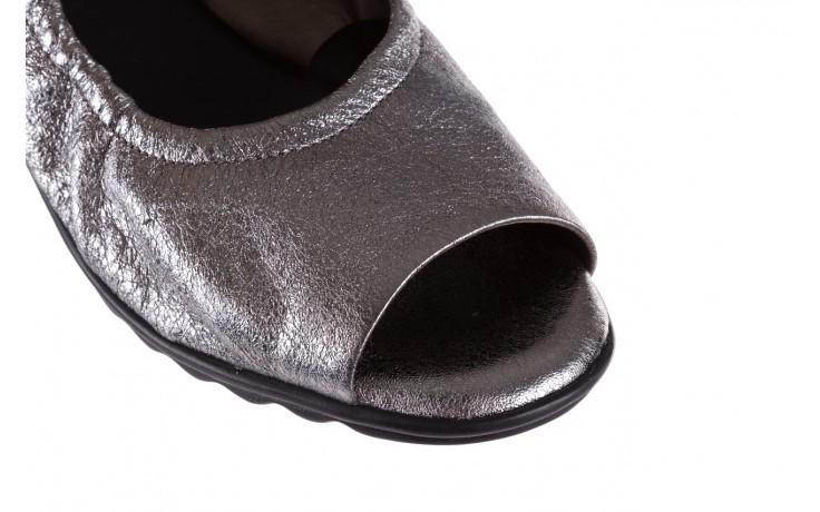Sandały the flexx fant asm c.fucile, srebrny, skóra naturalna  - the flexx - nasze marki 5