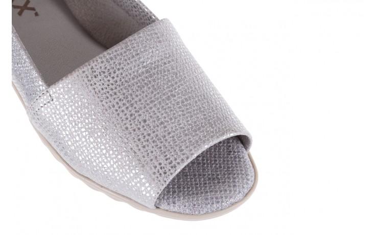 Półbuty the flexx fantastic silver, srebrne, skóra naturalna  - the flexx - nasze marki 5