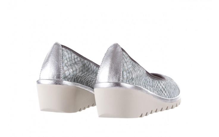 Baleriny the flexx mel a drama silver, biały/srebrny, skóra naturalna  - the flexx - nasze marki 3