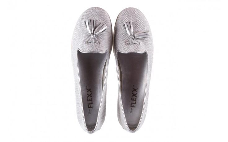 Lordsy the flexx miss take white-silver, biały/srebrny, skóra naturalna  - the flexx - nasze marki 4
