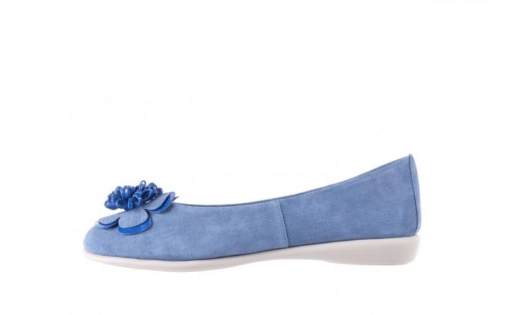Baleriny the flexx misspoke denim, niebieski, skóra naturalna - the flexx - nasze marki 2